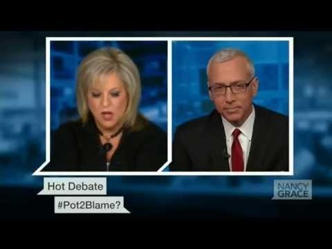 'Obviously You're Stoned': Nancy Grace Flips Out over Pot Again, Feat. Dr. Drew (FULL VIDEO)