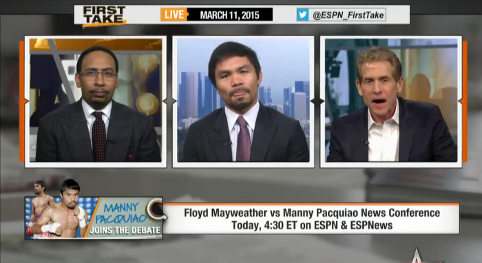 Manny Pacquiao Says He's Not Concerned About Floyd Mayweather!