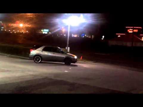 Hood Chick Goes Bumper Car Crazy At North Carolina Gas Station