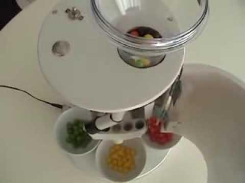 Ingenious Skittles Sorting Machine!
