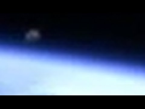 Grey Object seen in space captured by NASA HD cam