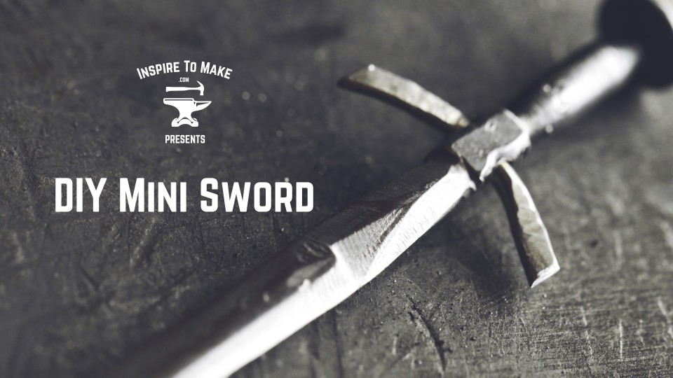 make mini swords out of nails
