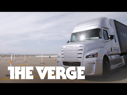 The Future Of Trucking: The World's First Self-Driving Big Rig!