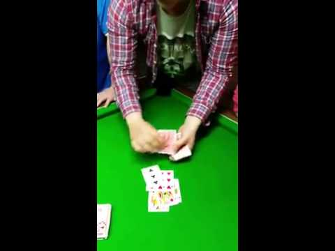 Awesome Irish card trick