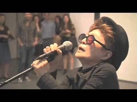 Yoko Ono destroying music, one generation at a time.