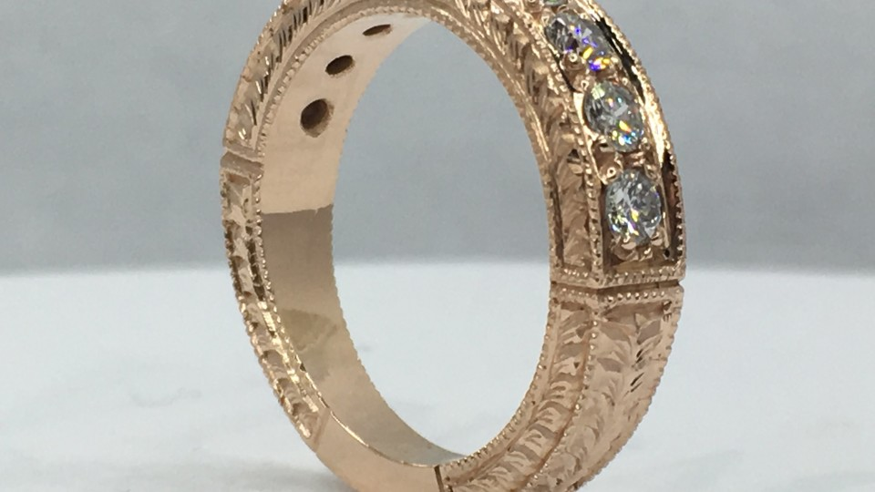 Handmade Diamnond Ring